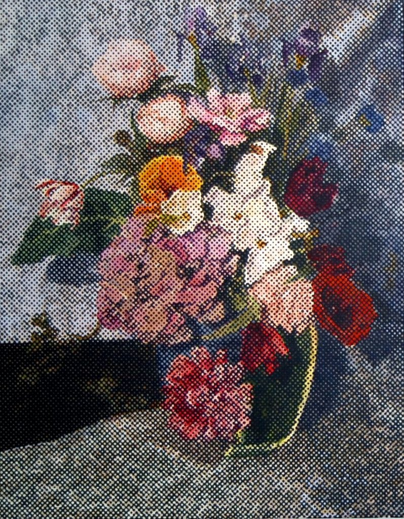 Bouquet 2, 2015, Acryl, 2015