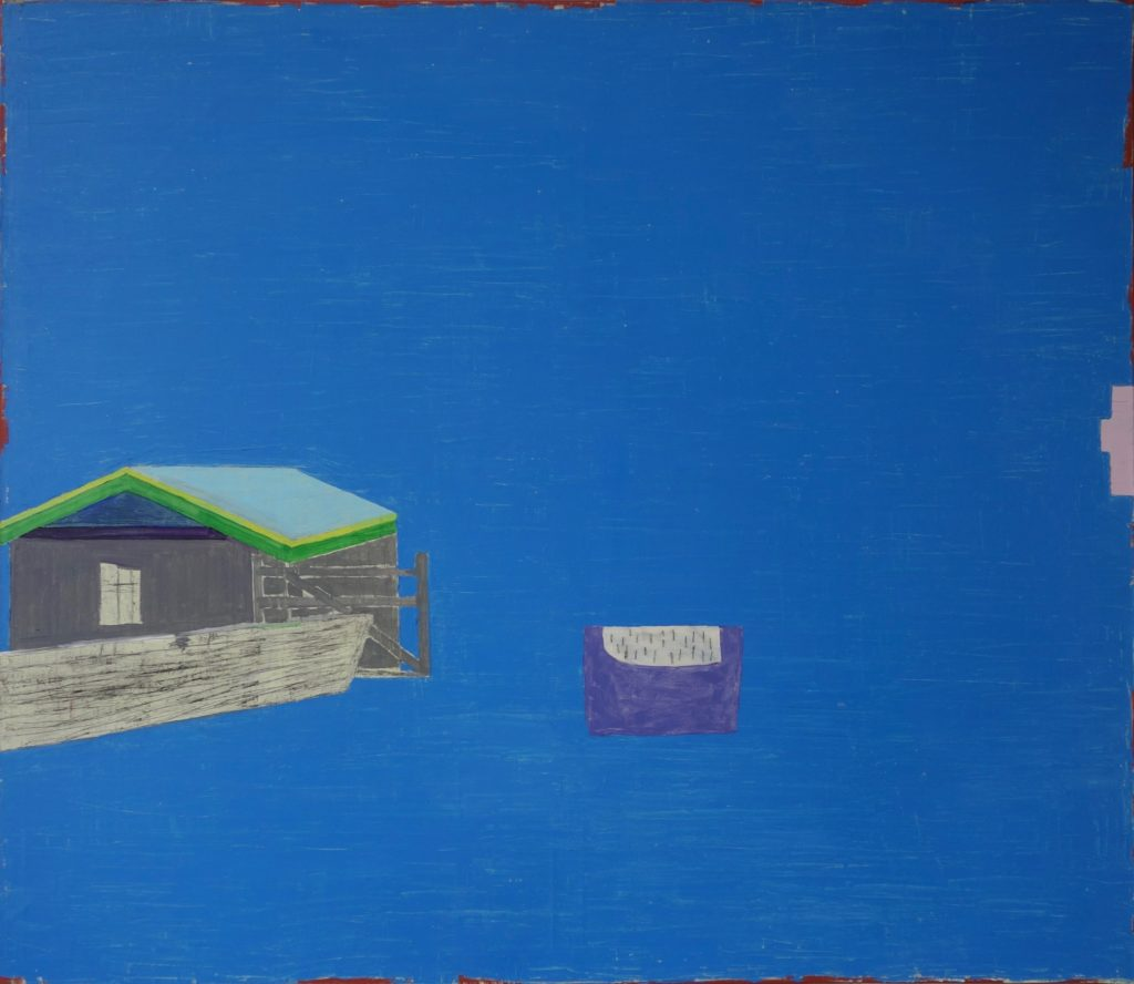 Haus am Meer, Öl auf Leinwand, 2008