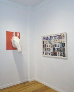 Julia Ziegler, Mr. ED, Wolf Spies Collagen/Zeichnungen