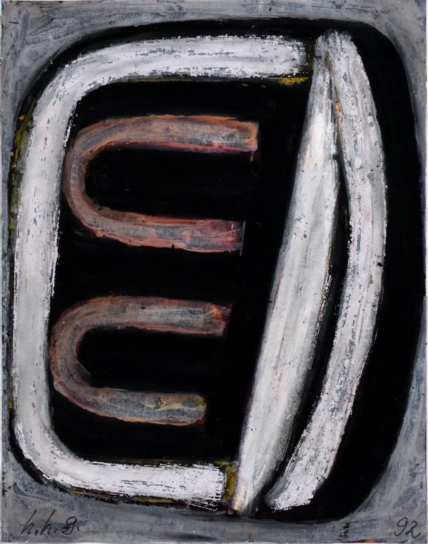o.T. Grimmling, 1993-3, 15x10cm