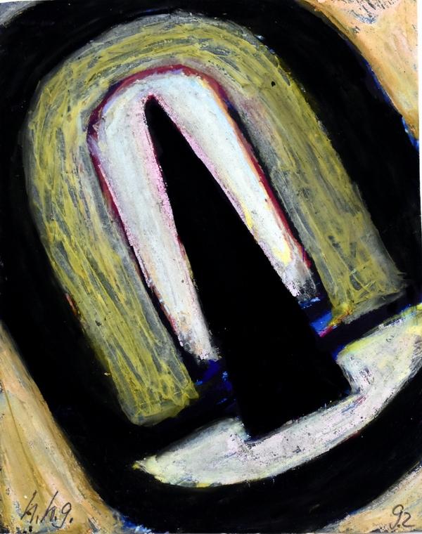 o.T, 1993-4, 15x10cm