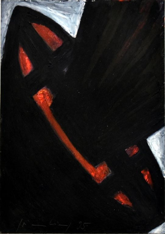 o.T., 1995-2, 15x10cm