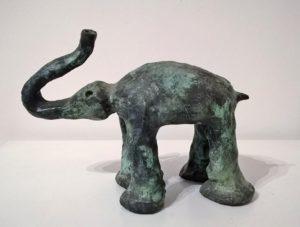 Elefant, 20x26x12, Bronze